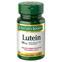 Nature's Bounty Lutein 20 mg 40 Softgels [074312049026]