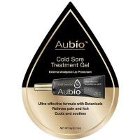 Aubio Cold Sore Treatment Gel 0.11 oz [855219006004]