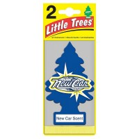 Little Trees Car Air Freshener, New Car Scent 2 ea [076171220899]