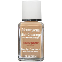 Neutrogena SkinClearing Oil-Free Makeup, Soft Beige [50] 1 oz [086800003984]
