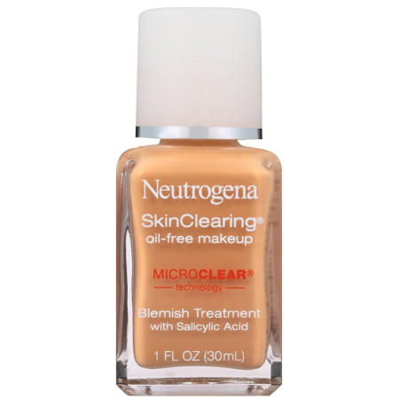 Neutrogena Skinclearing Oil-Free Makeup, [85] Honey 1 oz [086800438083]