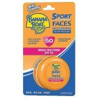 Banana Boat Sport Performance Faces Clear Zinc Sunscreen SPF 50 2 oz [079656006650]