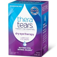 TheraTears Dry Eye Therapy Lubricant Eye Drops Single-Use 32 Each [058790000328]
