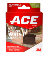 ACE Neoprene Wrist Brace One Size 1 Each [051131203853]