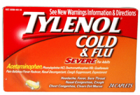 TYLENOL Cold & Flu Caplets, Severe for Adults 24 ea [300450270269]
