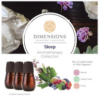 Dimensions Aromatherapy Sleep Collection Refills- 3 Refills for up to 4 Months of Brilliant Fragrance 1 ea [691039107633]