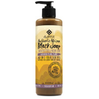 Alaffia Authentic African Black Soap, Lavender Ylang-Ylang 16 oz [841320102759]