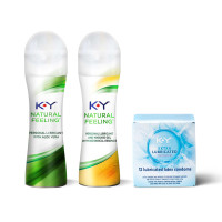 K-Y Intimacy Kit With Aloe Vera Lubricant Gel (1.69oz), Botanical Essence Lubricant Gel (1.69oz) and Extra Lubricated Latex Condoms (12cnt) 1 ea [191897504976]