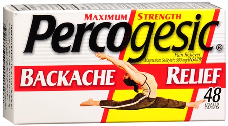 Percogesic Backache Relief Caplets 48 Caplets [375137212108]