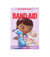 BAND-AID Brand Adhesive Bandages Doc McStuffins Assorted Sizes 20 Each [381371159390]