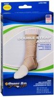 Sport Aid Double Strap Ankle Support MD 1 Each [763189016315]