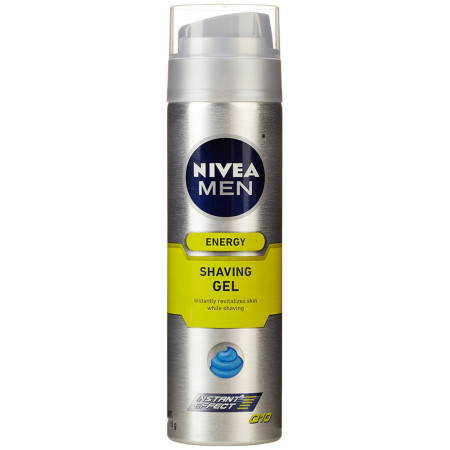 NIVEA FOR MEN Q10 Energy Shaving Gel 7 oz [072140002510]