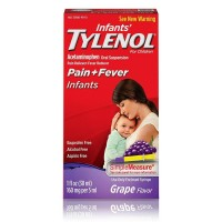 TYLENOL Pain + Fever Infants, Grape Flavor  1 oz [300450122377]