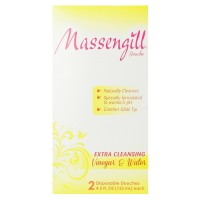 Massengill  Extra Cleansing Vinegar & Water Disposable Douche 2 ea [042037105600]