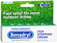 Benadryl Itch Stopping Cream Extra Strength 1 oz [312547171670]