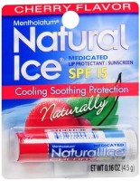 Mentholatum Natural Ice Lip Balm Cherry SPF 15 1 Each [310742004823]