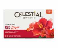 Celestial Seasonings Tea Caffeine Free Herbal Tea, Red Zinger 20 ea [070734000027]