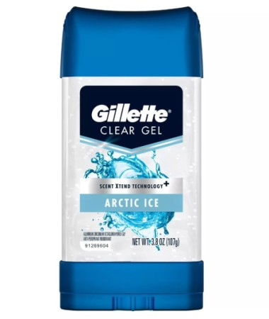 Gillette Anti-Perspirant Deodorant Clear Gel Arctic Ice 3.8 oz [047400307308]