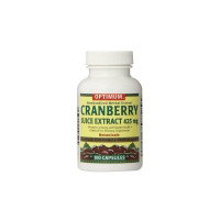 Optimum Cranberry Supplement Optimum 425 mg Strength Capsule, 100 ea [043292558125]