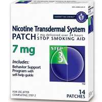Habitrol Nicotine Transdermal System Patch 7 mg Stop Smoking Aid, Step 3 14 ea [848985001557]