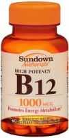 Sundown B-12 1000 mcg Tablets 60 Tablets [030768606930]