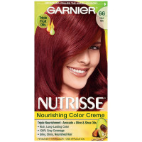 Garnier Nutrisse Nourishing Color Creme, True Red [66] 1 ea [603084242627]