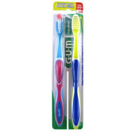 GUM Supreme Toothbrush, Value Pack, Soft 2 ea [070942123419]