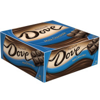 Dove Silky Smooth Bar, Milk Chocolate 18 ea [040000459842]
