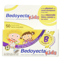 Bedoyecta Kids Multivitamin Dietary Supplement Chewable Tablets 50 ea [301870993059]