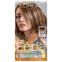 L'Oreal Feria Permanent Hair Colour, Cool, B61 Hi-Lift Brown 1 ea [071249218631]