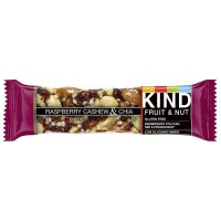 Kind Fruit & Nut Bar, 1.40 oz bars, Raspberry Cashew & Chia 12 ea [602652199790]