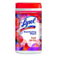 LYSOL Disinfecting Wipes, Brand New Day  80 ea [019200971812]