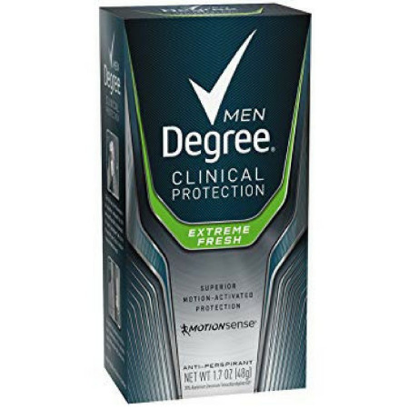 Degree Men Clinical+ Antiperspirant & Deodorant, Extreme Fresh 1.7 oz [079400206947]