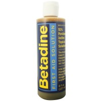 Betadine First Aid Solution 8 oz [367618150085]