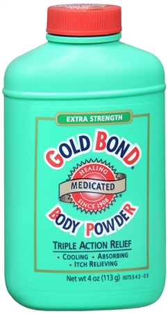 Gold Bond Body Powder Medicated Extra Strength 4 oz [041167040409]