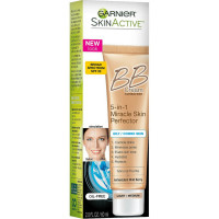 Garnier SkinActive BB Cream Oil-Free Face Moisturizer, Light/Medium 2 oz [603084297276]