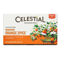 Celestial Seasonings Mandarin Orange Spice Tea Bags 20 ea [070734000317]