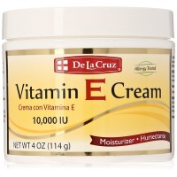 De La Cruz Vitamin E Cream 4 oz [024286180003]