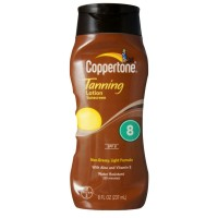 Coppertone Sunscreen Lotion SPF 8 8 oz [041100081810]