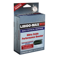 Libido-Max Red Nitic Oxide Performanc Booster Dietary Supplements, 30 ea [710363584962]
