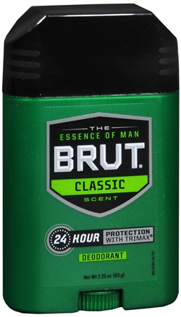 BRUT Deodorant Stick Original Fragrance 2.25 oz [827755070023]