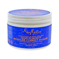 Shea Moisture Mongongo & Hemp Seed Oils High Porosity Moisture Correct Masque 12 oz [764302202066]