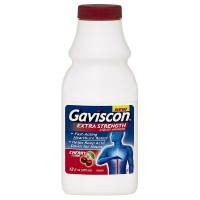 Gaviscon Extra Strength Liquid Antacid, Cherry Flavor 12 oz [307661173143]