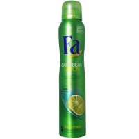FA Deodorant Spray, Caribbean Lemon 6.75 oz [4015000615884]