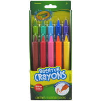 Crayola Bathtub Crayons, Assorted Colors 9 ea [692237042238]