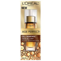 L'Oreal Paris Age Perfect Cell Renew Facial Oil, Light 1 oz [071249293805]