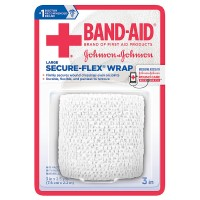 BAND-AID First Aid Secure-Flex Wrap, Large 1 ea [381371161515]