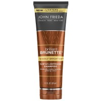 John Frieda Brilliant Brunette Subtle Lightening Shampoo, Visibly Brighter 8.30 oz [717226224676]