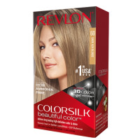 Revlon ColorSilk Hair Color, 60 Dark Ash Blonde 1 ea [309978695608]