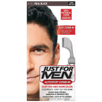 JUST FOR MEN AutoStop Haircolor, Real Black A-55 1 ea [011509043139]